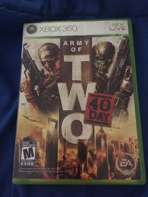 Army of two 40 day for Sale in Dallas, TX