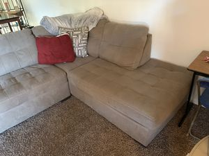 Sectional couch 4 months old not using and moving for Sale in Clovis, CA