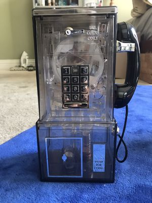 Vintage Motorized telephone Coin Dispenser for Sale in Escondido, CA