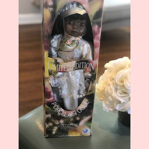 Beautiful Black Porcelain Doll for Sale in Washington, DC