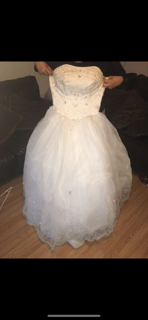Quinceanera White Dress for Sale in Denver, CO