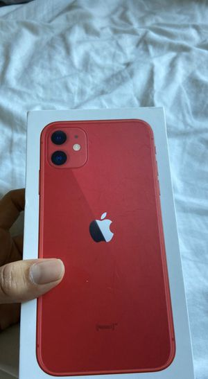 iPhone 11 Red for Sale in Carrollton, TX