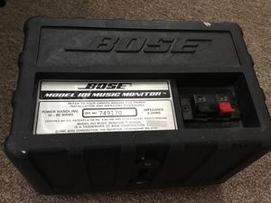 Bose model 101 music monitor for Sale in San Francisco, CA
