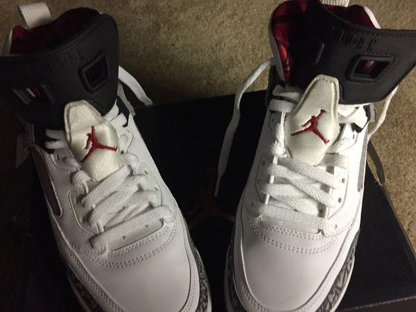 Jordan spikes like new size Y 7