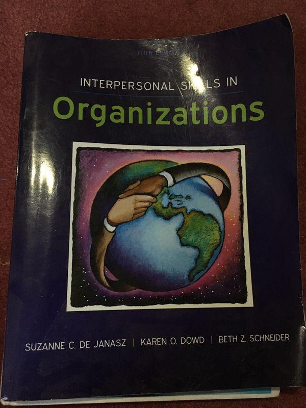 Interpersonal Skills in Organizations 5 Ed