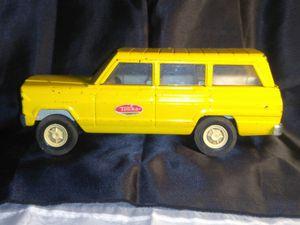 Vintage Tonka Metal Yellow Toy Wagoneer for Sale in Port Huron, MI
