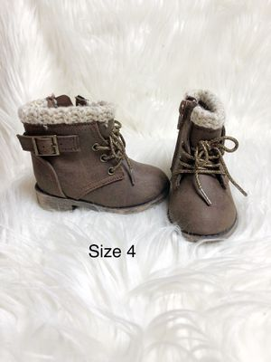 Toddler girl brown boots for Sale in Watertown, CT