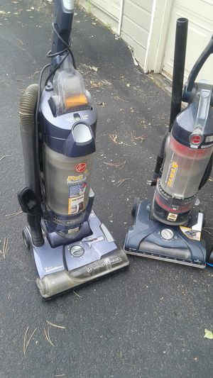 2 hoover pet rewind vacuum cleaners for Sale in Aurora, CO