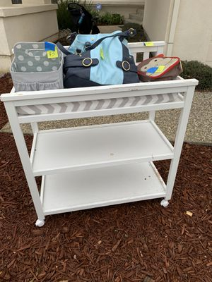 Changing table for Sale in Morgan Hill, CA