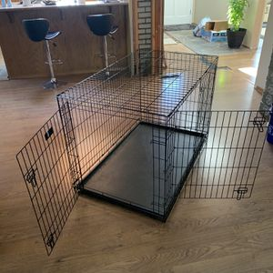 Large dog crate for Sale in Edmonds, WA