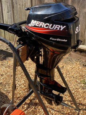 Mercury 8hp ONLY 1 HOUR!!! for Sale in Antelope, CA
