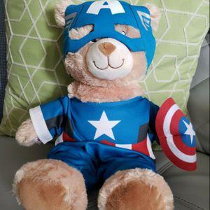 Captain America Build a Bear for Sale in Thonotosassa, FL