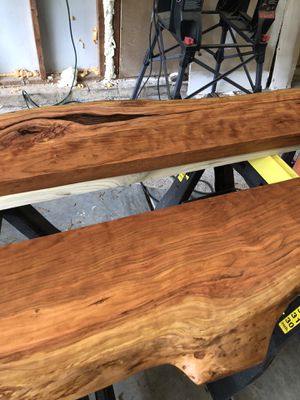 Live edge cherry bookshelves for Sale in Rock Hill, SC