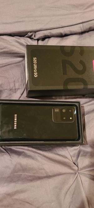 unlocked samsung galaxy s20 ultra 5G for Sale in Riverdale, MD