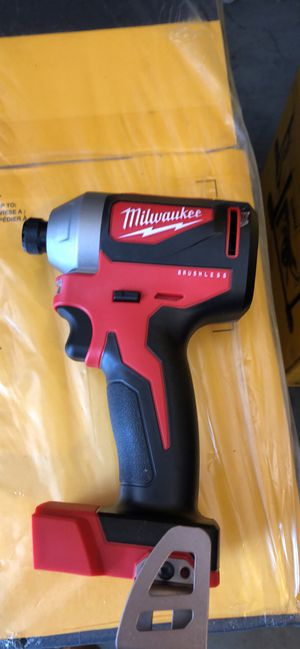 M18 18-Volt Lithium-Ion Brushless Cordless 1/4 in. Impact Driver (Tool Only) for Sale in Raleigh, NC