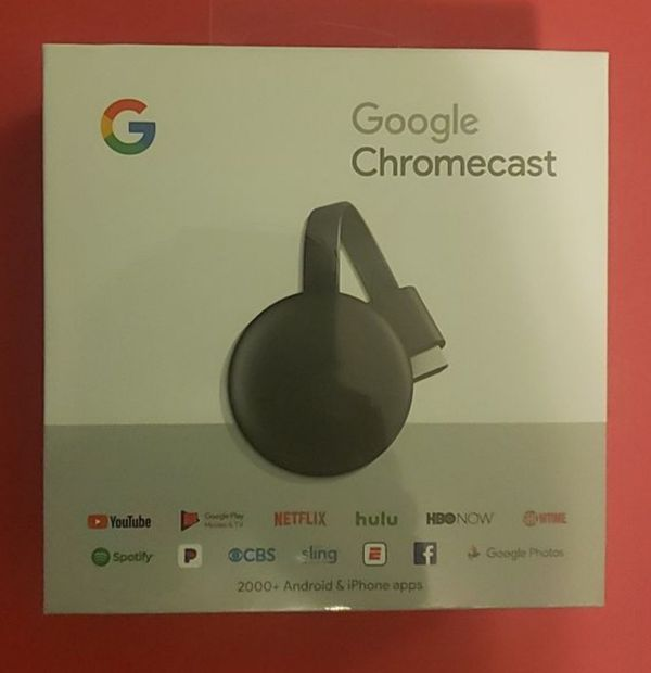 Brand new Google Chromecast
