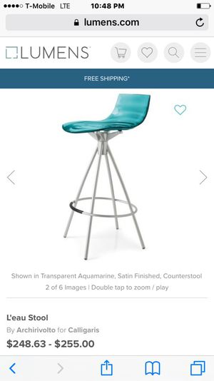 Calligaris bar stool for Sale in Queens, NY
