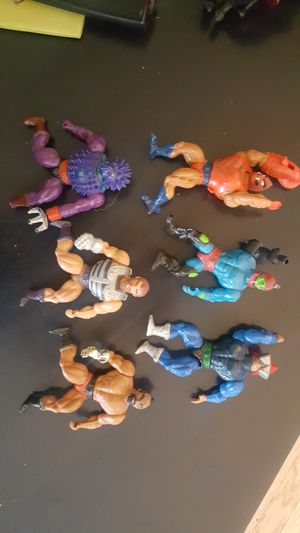 Masters of the Universe vintage action figure toys for Sale in Portland, OR
