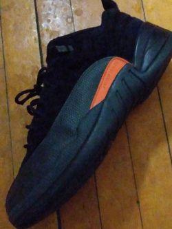 "Air Jordan 12 Low BG""Black Max Orange"" for Sale in Milwaukee,  WI"