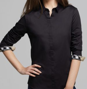Burberry black women shirt size S for Sale in Vancouver, WA