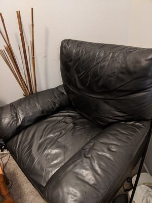 Leather Reclining Chair for Sale in Fullerton, CA