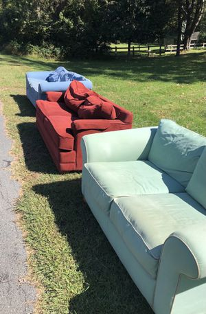 Couch $10 each for Sale in Washington, DC