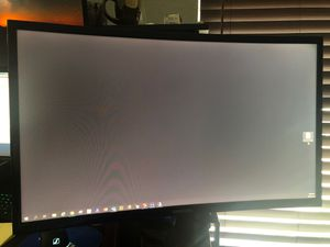 Monitor Samsung 24inch curve for Sale in Arlington, TX