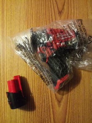 Milwaukee hammer drill and battery and charger and milwaukee carry case for Sale in Warner Robins, GA
