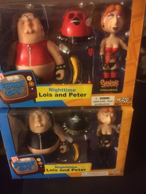 Family Guy Nighttime Lois and Peter 2 pack for Sale in Philadelphia, PA