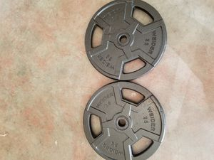 Weider 25 pound weights for Sale in Rochester, WA