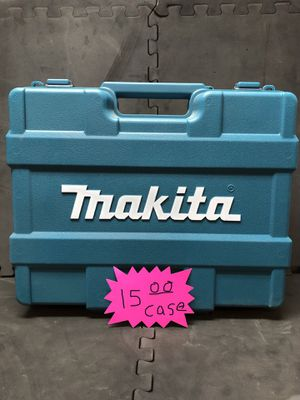 Makita hard shell drill case (case only) for Sale in Eugene, OR