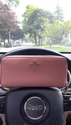 Coach dusty rose wallet for Sale in Bellwood, IL