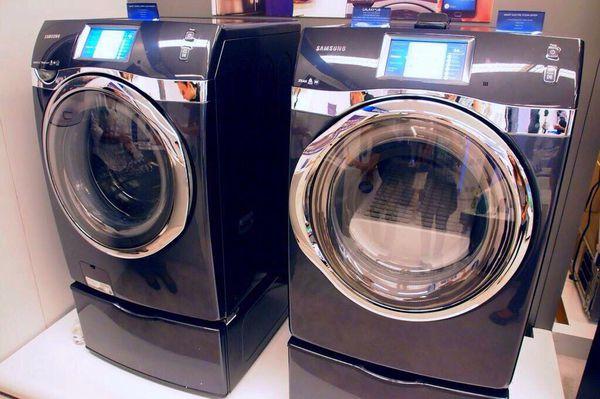 Samsung flex washer and dryer set