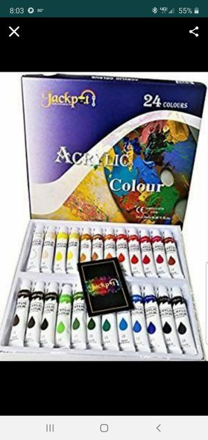 Acrylic paint set (no brushes) for Sale in Sarasota, FL
