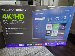 Insignia roku smart TV 50 inch 4k for Sale in Richardson, TX