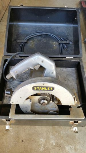 Vintage Stanley circular saw for Sale in Bowie, MD