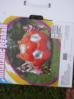 Inflatable Giga ball for Sale in Sarasota, FL