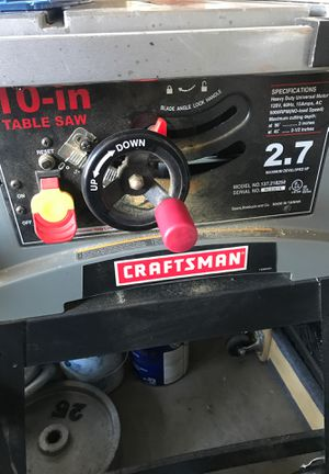 Table Saw (Craftsman) for Sale in Mission Viejo, CA
