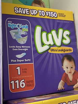 Luvs diapers size 1 for Sale in Redondo Beach, CA