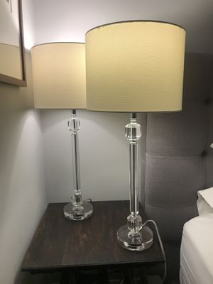 """Two crystal lamps """"26 for Sale in Seattle, WA"""