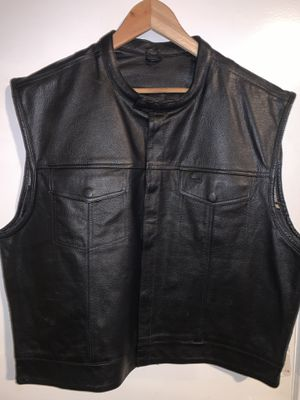 Xelement leather vest (3XL) for Sale in Glendora, CA