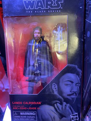 Star Wars Lando Calrissian Black Series for Sale in West Covina, CA