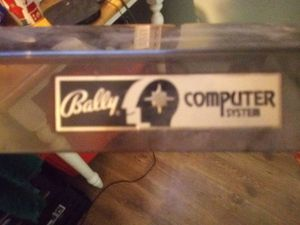 Bally Computer System for Sale in Graham, WA