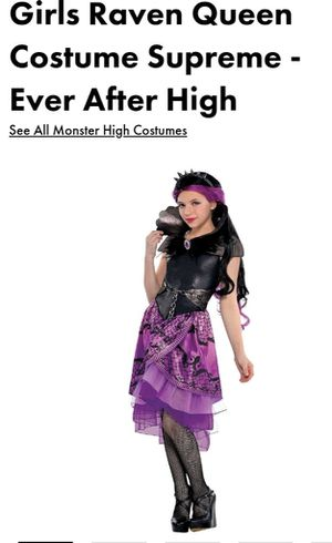 Child Size 12/14 Raven Queen Costume for Sale in Queens, NY