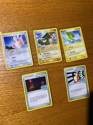 Stamped ex crystal guardian holo pokemon cards for Sale in Raleigh, NC