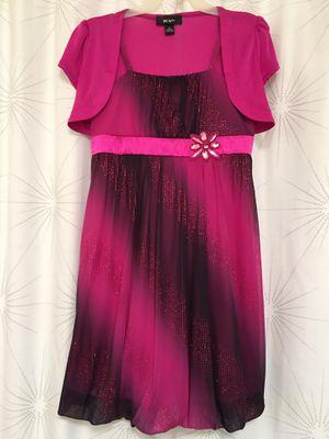 Gorgeous Girls Dress, size 10, with Rhinestone Flower for Sale in Phoenix, AZ
