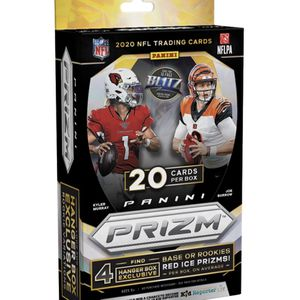2020 Panini Prizm NFL Football Trading Cards Hanger Box for Sale in Fresno, CA