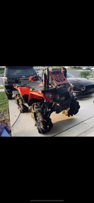 Polaris sportman 2016 with mud tires ready to go in adventure for Sale in Orlando, FL