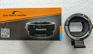 Commlite EF to NEX E Sony Mount AF Adapter for Sale in Yonkers, NY