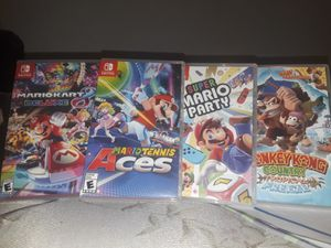 Any Of The Games Shown, Also Have A Switch For Sell If Intrested for Sale in Salt Lake City, UT